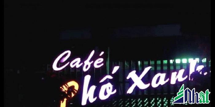 Biển hiệu quán cafe Phố Xinh