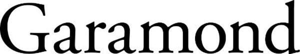 Font chữ Garamond