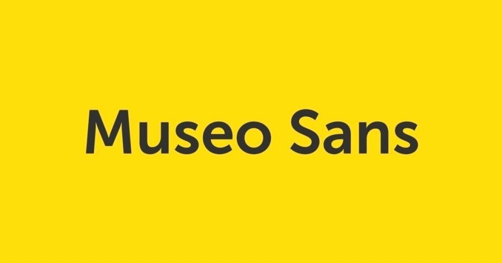 Font chữ Museo