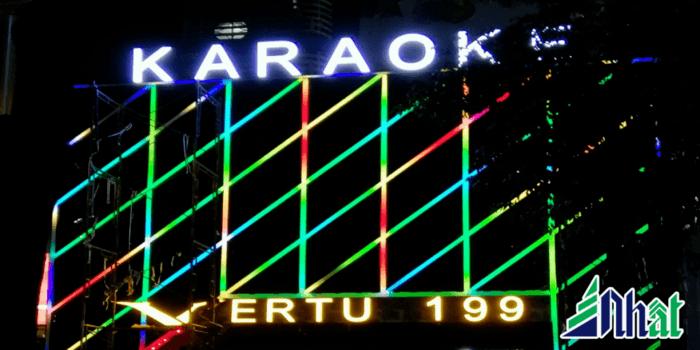 Mẫu bảng hiệu led ma trận đơn màu và đa màu