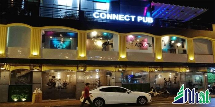 Mẫu biển hiệu quán cafe Connect Pub
