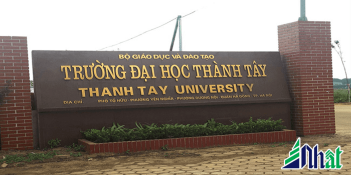 Mẫu bảng hiệu trường đại học đẹp