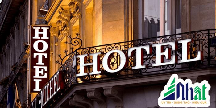 Mẫu biển hiệu khách sạn hotel