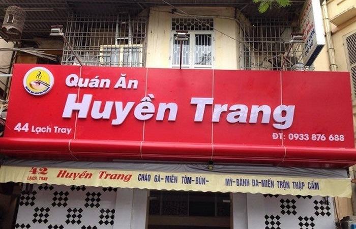 Mẫu biển hiệu quán ăn vặt