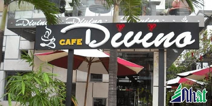 Mẫu biển hiệu quán cafe Duino