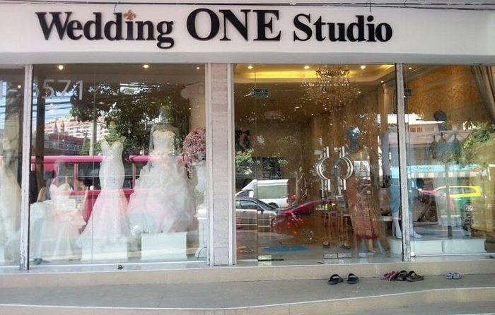 Mẫu biển hiệu Studio áo cưới đẹp