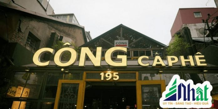 Tên quán cà phê đẹp với một chữ duy nhất