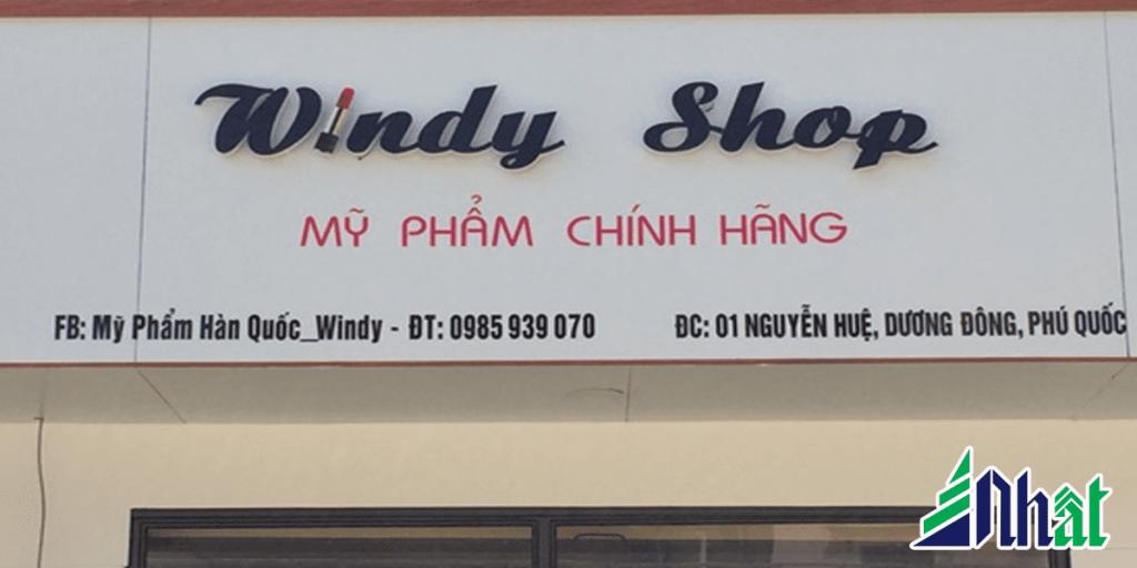 Bảng quảng cáo shop mỹ phẩm
