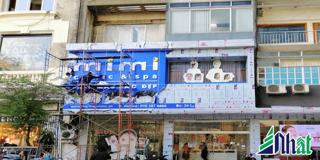 bảng hiệu thẩm mỹ viện Mimi