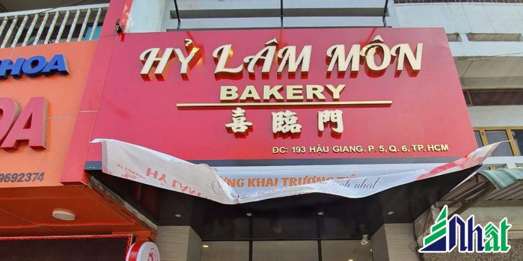 bảng quảng cáo bánh kem