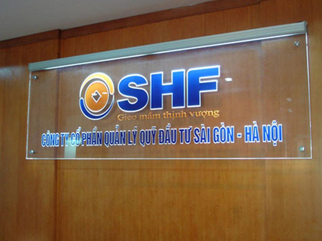 Bảng hiệu văn phòng backdrop văn phòng