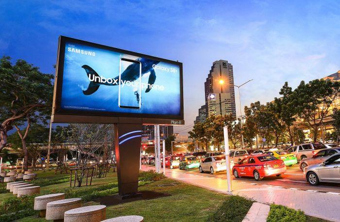 biển quảng cáo LED ngoài trời