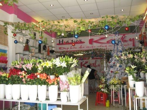 bảng hiệu shop hoa tươi